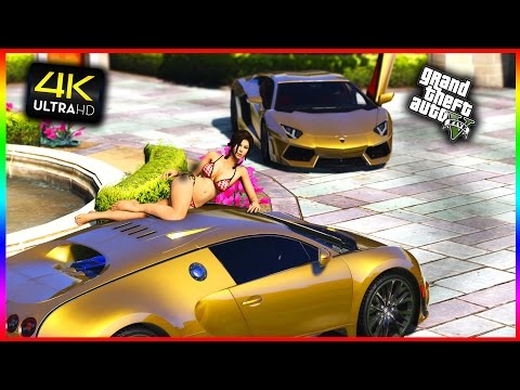 GTA 5 DLC - BILLIONAIRE CAR MEET 2 Partying Racing.mp3