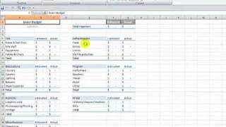 How to Merge Multiple Excel Workbooks to a Master Budget