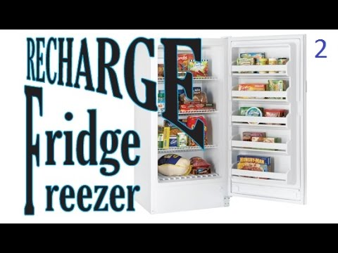 Frigidair Upright Freezer repair r134a refill part 2 of 2