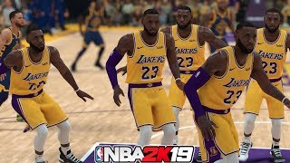 Can Lakers With 15 LeBron's Win The 2019 NBA Championship? NBA 2K19