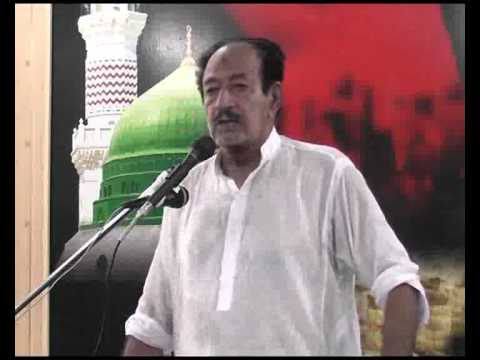 Zakir  Madah Hussain Shah  Biyan Abbas Alamdar,as Majlis  14 Aug 2014 At Sargodha video