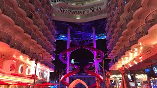 Symphony of the Seas Tour - Port Of Miami, Junior Suite, Pools, Cruise Buffet, Balloon Drop