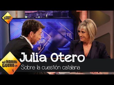 Julia Otero habla sobre la cuestión catalana - El Hormiguero 3.0