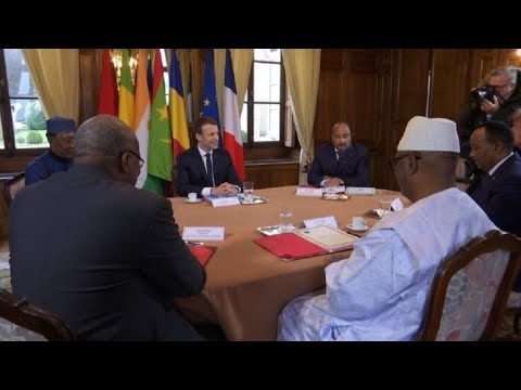 G5 Sahel summit at Celle-Saint-Cloud in France