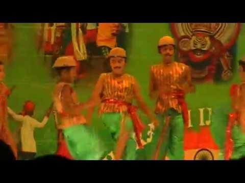 Dennanna dennana denna Tulu Folk song at indian night 2012 bharathi event.