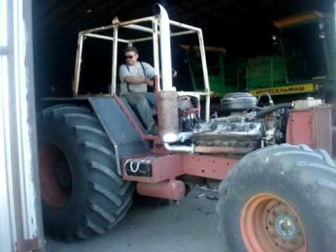 Как сделать самодельный трактор бизон видео