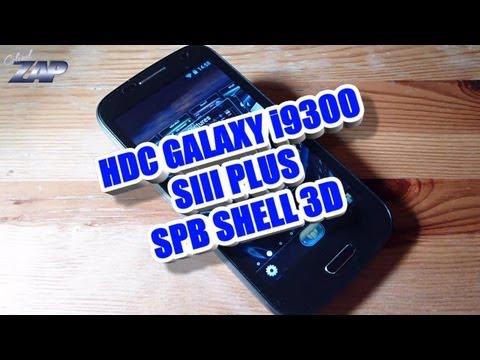 HDC Galaxy i9300 SIII PLUS - SPB Shell 3D Test - MT6577 - Dual Sim - Samsung S3 Clone? ColonelZap