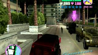 GTA Vice City walkthrough part 8 (without cheats) with commentary