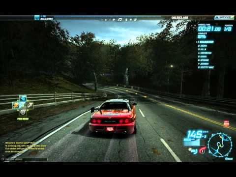 Need For Speed World - Review - Toyota MR2 full ultra tuned ( Rosewood Lyons )