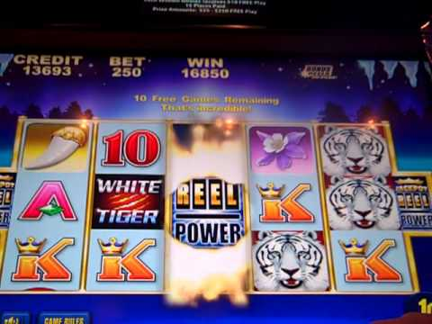 Jackpot Reel Power Max Bet Free Spins BIG WIN