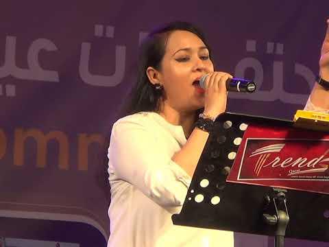 Bangla New Song 2017 Monali  Live Performance Eid Event Qatar Akash Media Bhubon