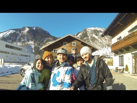 Snowboard trip, Kaprun, Austria