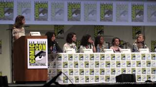 Women Who Kick Ass panel, SDCC 2014