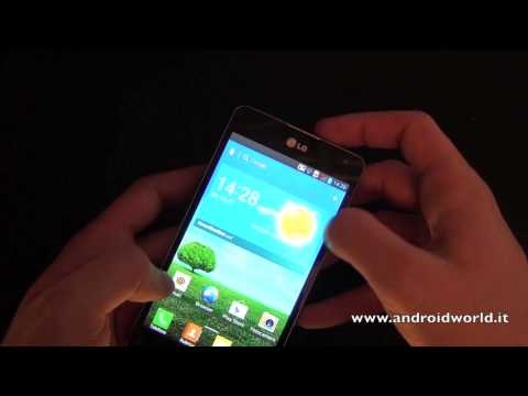 LG Optimus G. anteprima in italiano by AndroidWorld.it