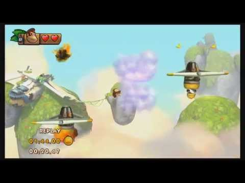 7-3 Crazy Clouds World Record: Donkey Kong Country Tropical Freeze