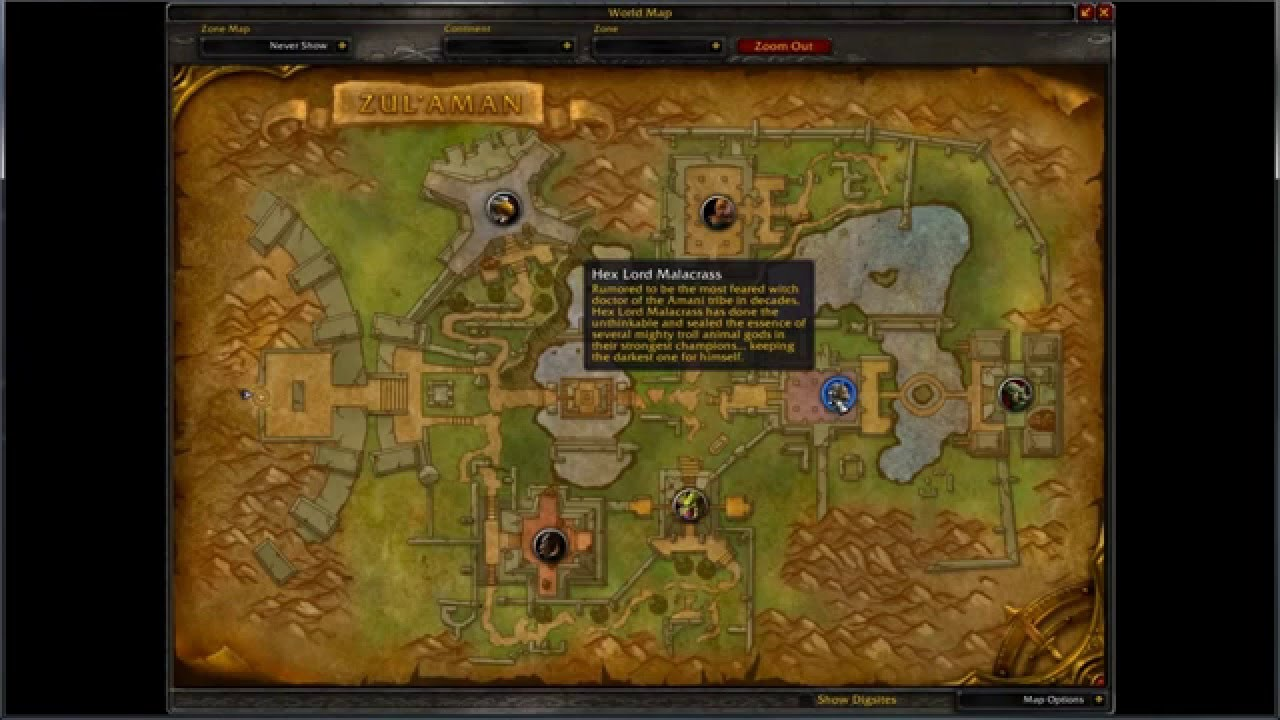 how to find the entrance to zul 39 aman world of warcraft youtube. Black Bedroom Furniture Sets. Home Design Ideas