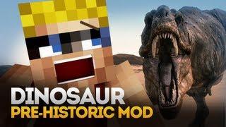 Minecraft Mod Spotlight: DINOSAURS EVERYWHERE! (Pre-Historic Mod) (1.5.1)
