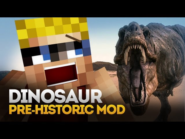 Minecraft Mod Spotlight: DINOSAURS EVERYWHERE! (Pre-Historic Mod) (1.5.1)