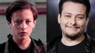 Eles cresceram - Antes e Depois de artistas
