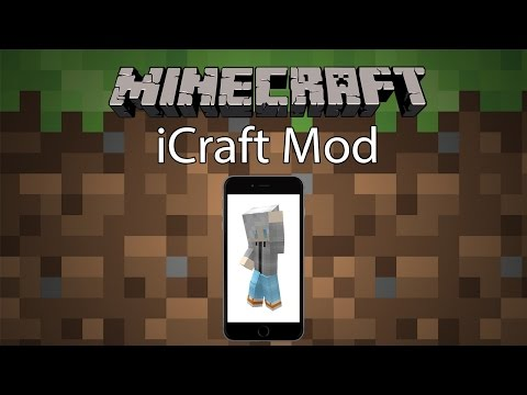 Minecraft Mod รีวิว - Mod ไอโฟนในมายคราฟ | iCraft Mod [1.7.10]
