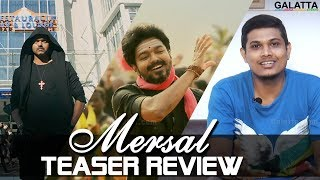 Mind blowing Mersal teaser | Thalapathy Rocks | Video Review