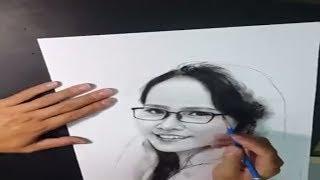 Học Vẽ online -Cách vẽ người - cách tả da p2