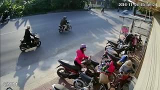 Trộm xe máy, cần tìm gấp đối tượng trộm xe trong hình