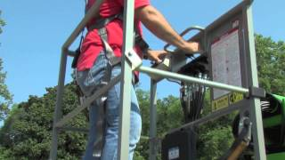 Nifty Trailer-Mounted 50' Boom Lift Demonstration
