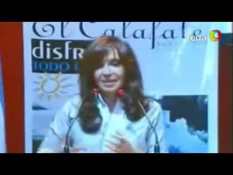Cristina Fernández se emociona al hablar de Chile