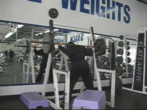 Powerlifting Squat Workout Routine, Box Squats, One ... Image 1