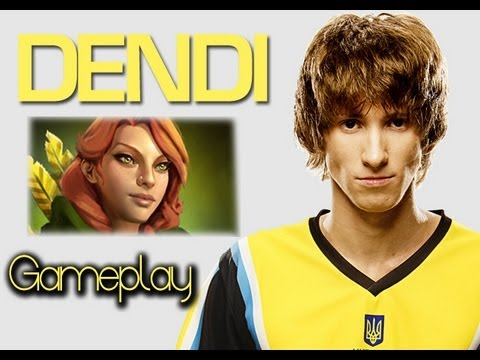 Dota 2 Na'Vi Dendi Windrunner Pro Gameplay