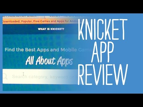 Product Review - Knicket The App Search Engine