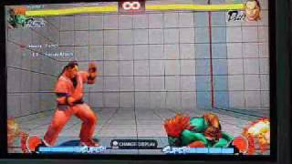 blanka ssf4 and ae. tips tricks shenanigans, mix ups, combos