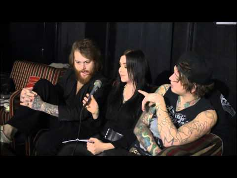 Asking Alexandria Interview The Circus, Helsinki, Finland 10.11.2014 video