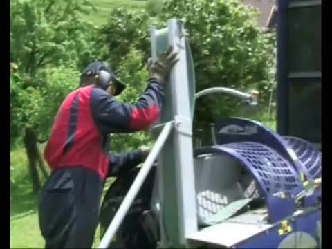 Maquina para hacer leña