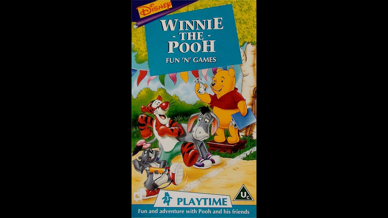 Pooh Vhs Pooh Fun Games uk Vhs