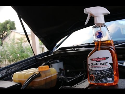 Easy Way To Clean An Engine Bay using Bowden's Own