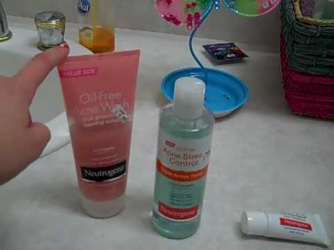 Neutrogena Acne Products Review