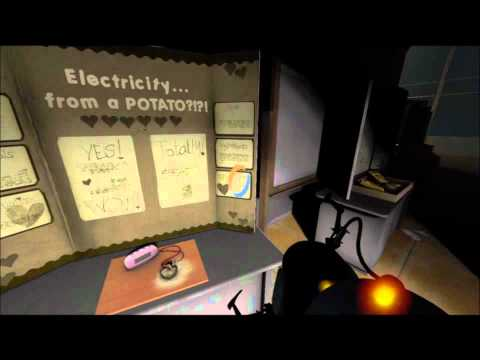 Portal 2: Bring you daughter to work day. Heard in Portal 1 | Easter egg