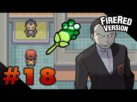 Let's Play Pokemon: Firered - Part 18 - Viridian Gym Leader Giovanni video