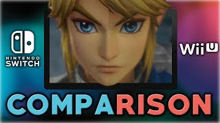 Hyrule Warriors: Definitive Edition | Comparison | Nintendo Switch VS Wii U