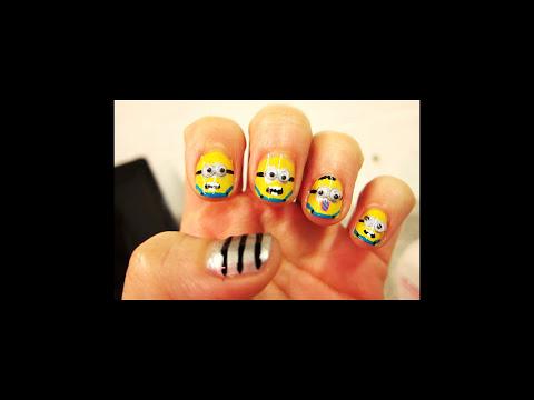 Diseño de uñas #19 ╫ Despicable Me: Minions (Mi villano favorito)╫