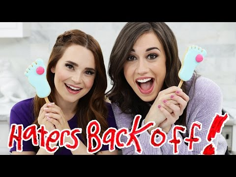 MIRANDA SINGS FROZE TOES COOKIE POPS ft Colleen! - NERDY NUMMIES