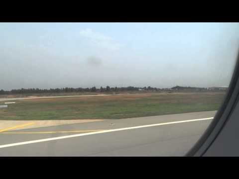 AirAsia India Airbus A320-200 taking off from VOBL