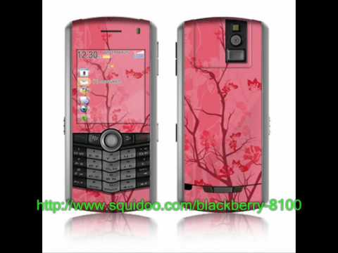 BLACKBERRY PEARL SKIN Video