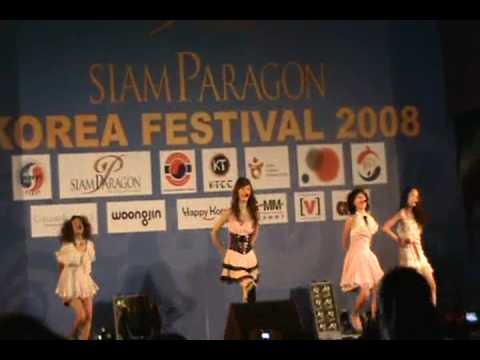 Pink Heart- Korea Festival Siam Paragon Bangkok Thailand Oct 12,2008