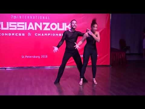 RZCC2018 Oksana & Maxim in Performance ~ Zouk Soul