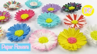DIY Paper Craft: Paper Flowers Easy Room Decor/Party Decor