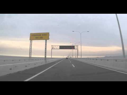 A drive through at 2nd Link Penang Bridge