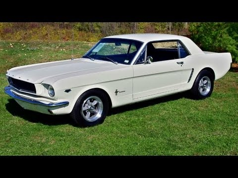 1965 Ford Mustang K-Code Coupe - Nicely Restored and Modified Pony Car